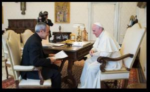Julián Carrón y el Papa